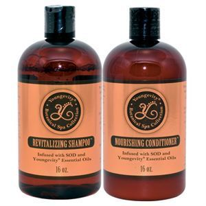 Picture of Botanical Spa Shampoo and Conditioner Combo - 16 fl oz